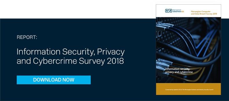 Information Security, Privacy and Cybercrime Survey 2018